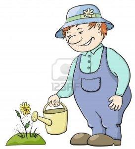 9409743-les-eaux-jardinier-homme-d-39-un-lit-avec-une-fleur-a-partir-d-39-un-arrosoir