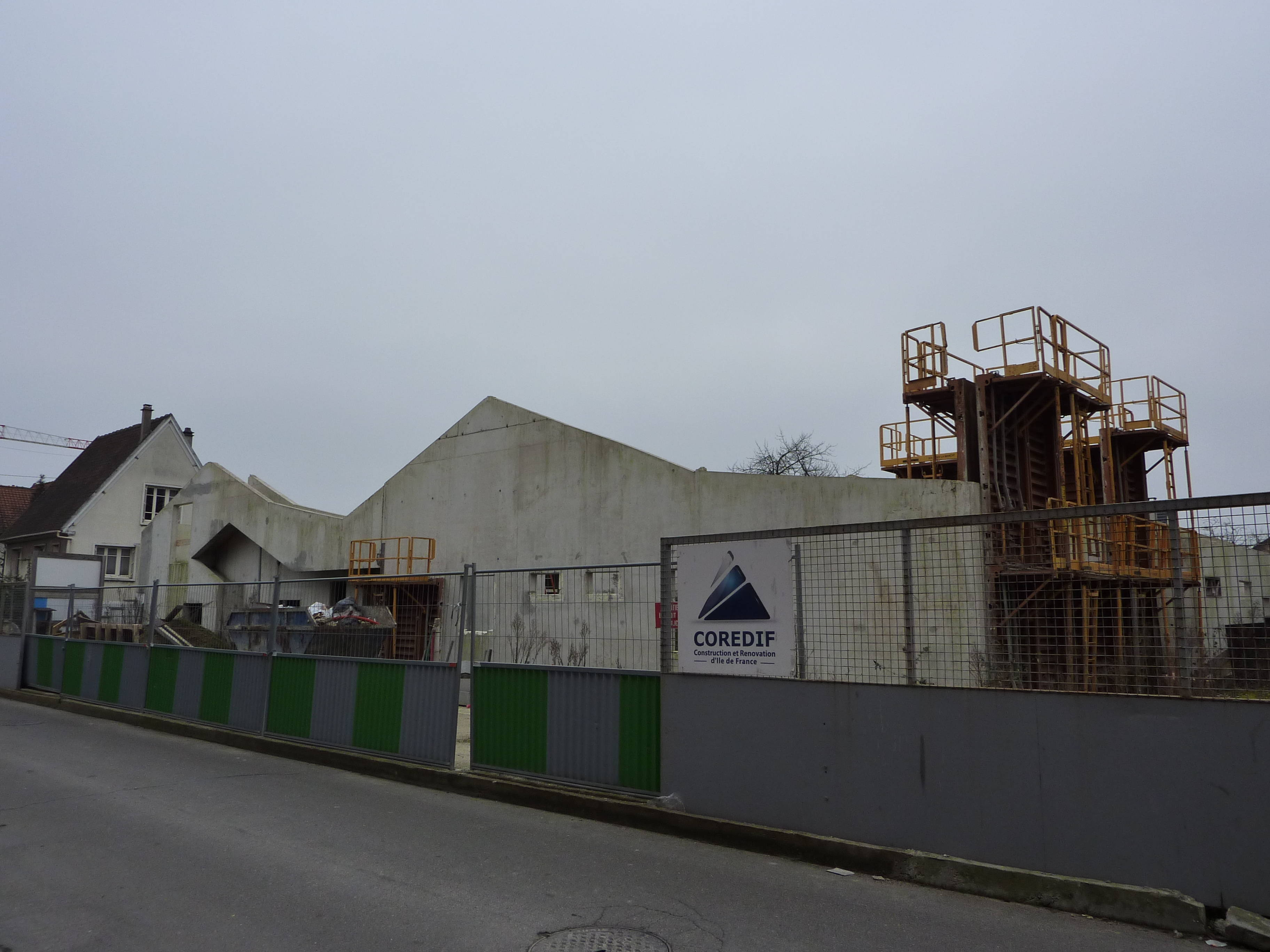 Aulnay sous Bois le chantier de la cr u00e8che rue de Toulouse toujours suspendu ? Aulnaycap # Creche Aulnay Sous Bois