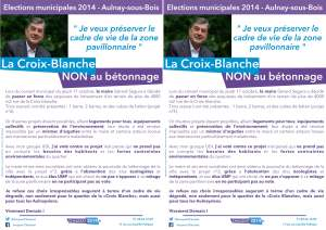 Tract Croix Blanche le 19 10 2013