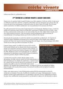 Communiqué de presse - crèche vivante 2013_Page_1