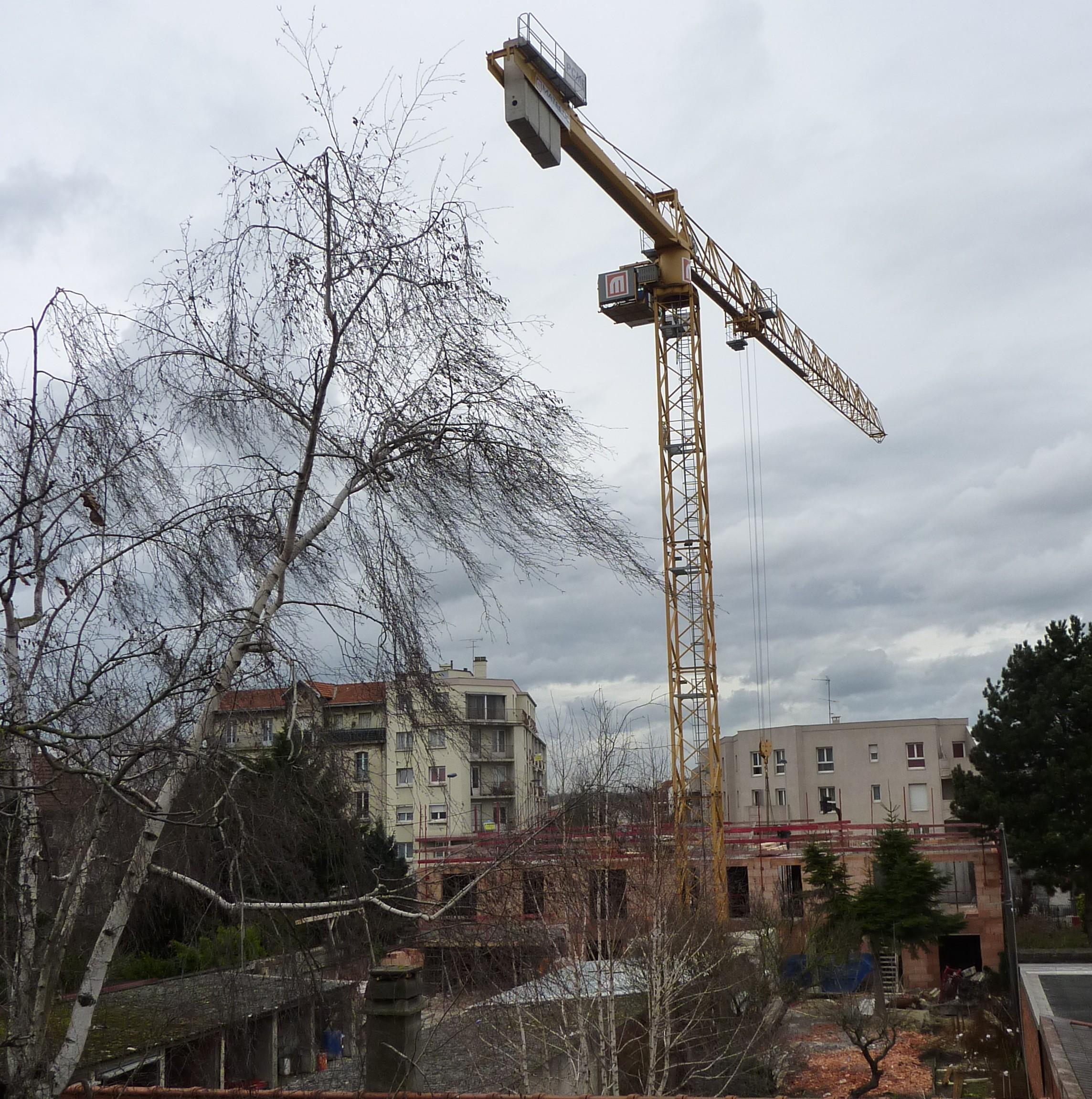Un lecteur nous a transmis une nouvelle photo du chantier Novellus, vu  ~ Bricoman A Aulnay Sous Bois