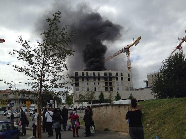 Explosion et incendie sur un chantier du galion aulnay sous bois aulnaycap - Garage moto aulnay sous bois ...