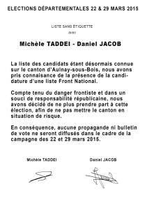 AFFICHE D JACOB M TADDEI n°2