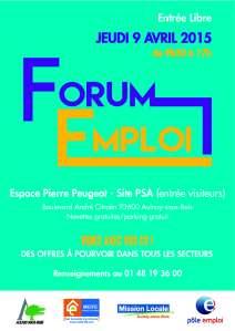 forum emploi  affiche VF 160115