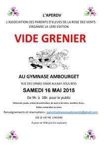 VIDE GRENIER III