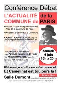 affiche camélinat 6 juin 2015