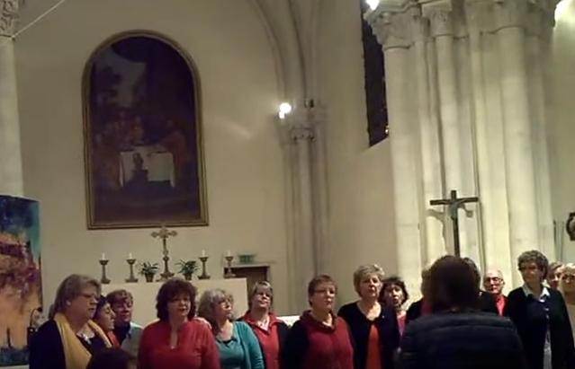 Vid os concert arpej l glise saint sulpice d aulnay - Le comptoir de martine colombey les deux eglises ...