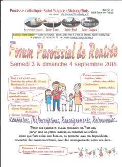 forum paroissial 1