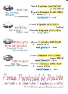 forum paroissial 2
