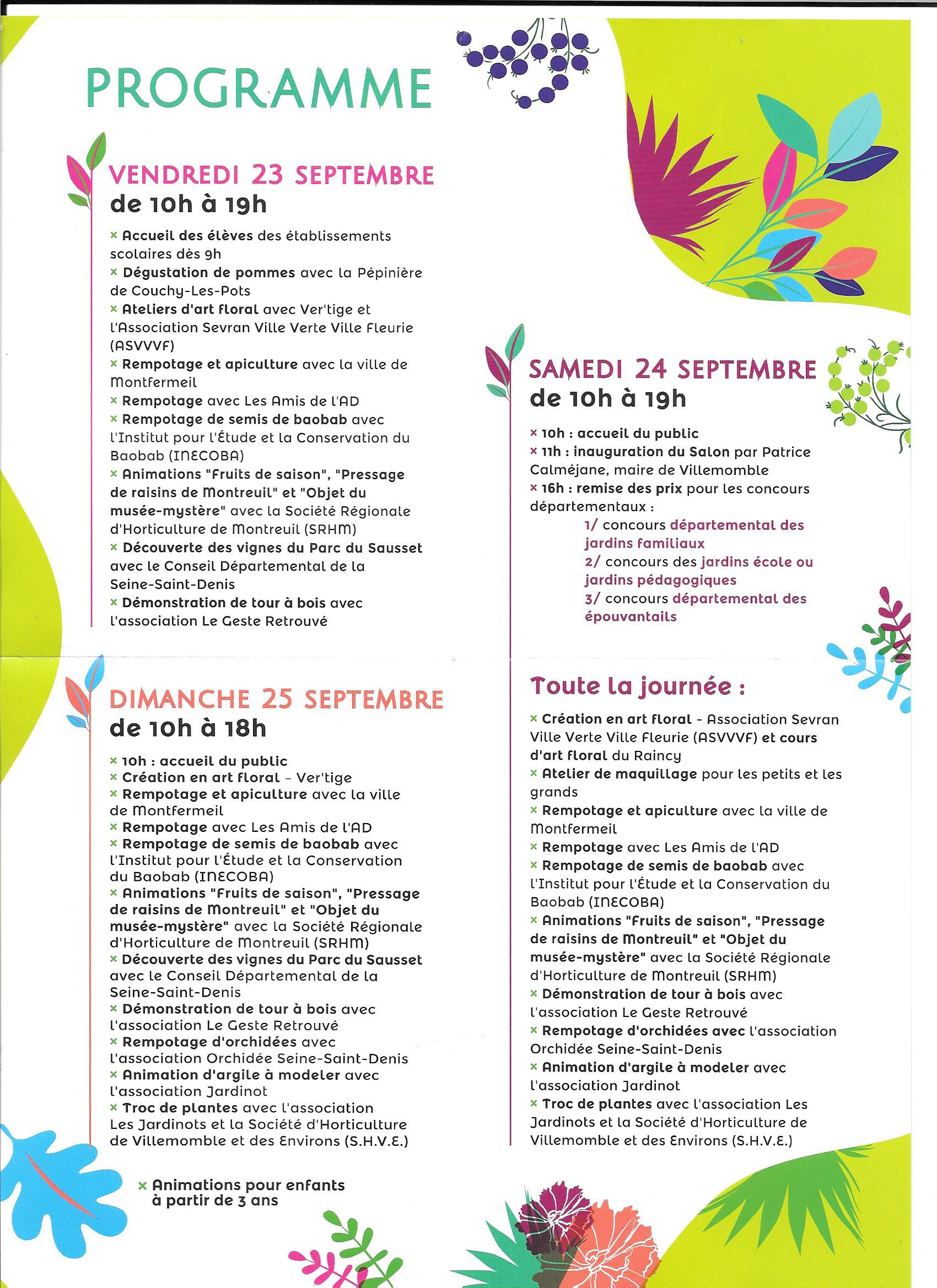 35 eme dition du salon du jardinage villemomble for Salon du jardinage 2016