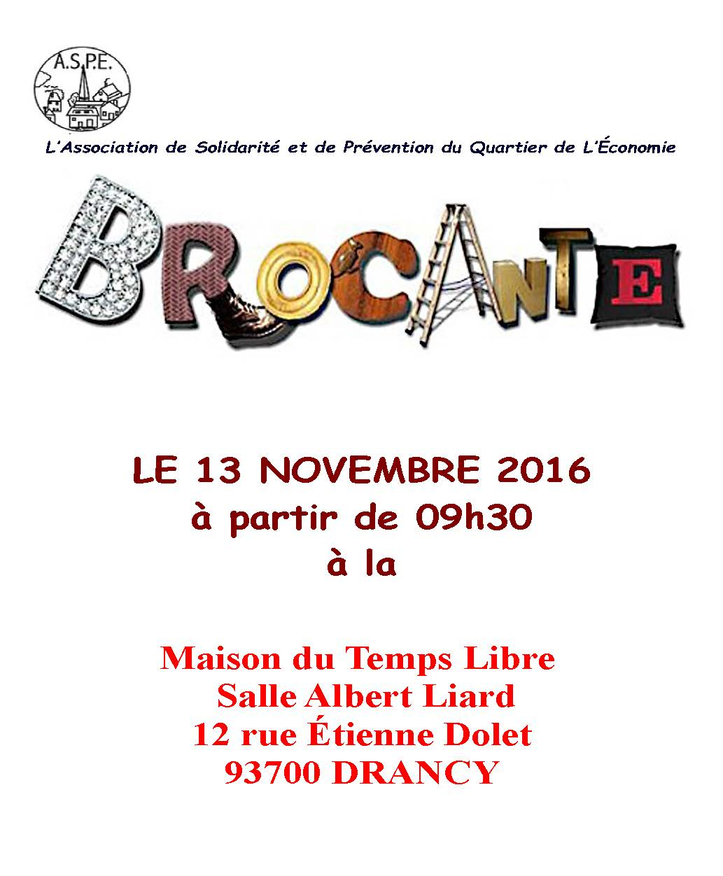 Brocante aulnaycap for Brocante aulnay sous bois